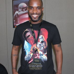 0 Phoenix James - Autograph Signing at Showmasters London Film and Comic Con - Star Wars First Order Stormtrooper Actors