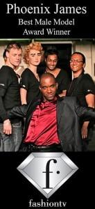 Phoenix James - Fashion TV - Best Male Model Award Winner - FTV__