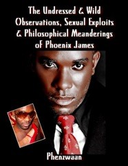 The Undressed & Wild Observations, Sexual Exploits & Philosophical Meanderings of Phoenix James