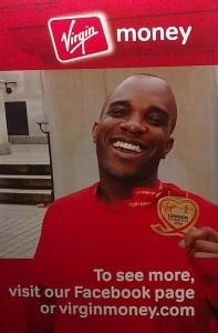 Phoenix James in Virgin Money & London Marathon Ad