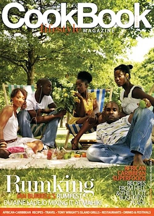 Phoenix James on cover of GV Media Lifestyle Magazine