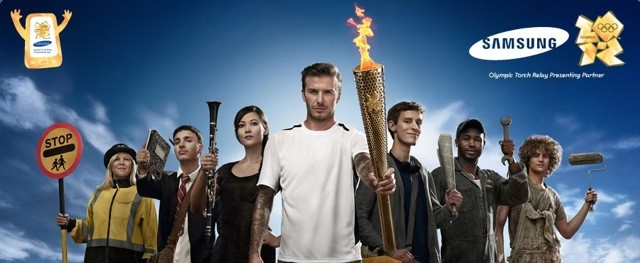 Phoenix James in Samsung Olympics 2012 Campaign