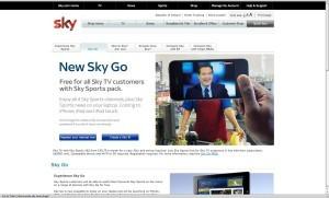 Phoenix James - Sky Go Campaign