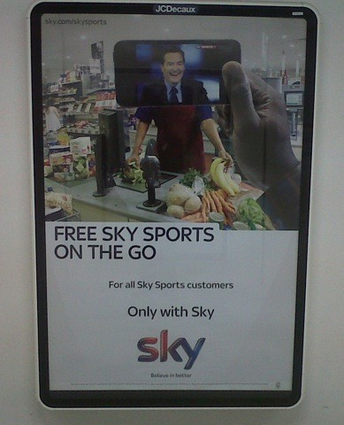 Phoenix James - Hand Job for Sky Sports new Sky Go Campaign