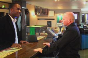 Phoenix James stars in A Man Walks Into A Bar - Film