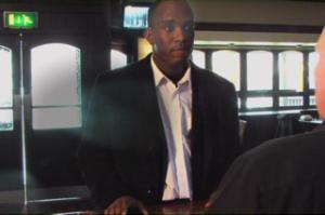 Phoenix James stars in A Man Walks Into A Bar - Film__