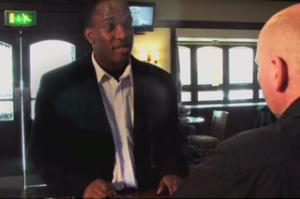 Phoenix James stars in A Man Walks Into A Bar - Film___