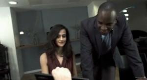 Phoenix James in new Lenovo ThinkPad Commercial_