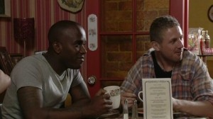 Phoenix James on BBC One's EastEnders
