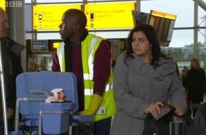 Phoenix James on BBC One's EastEnders_