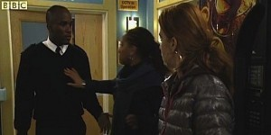 Phoenix James on Eastenders BBC One Television