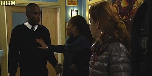 Phoenix James on BBC One's Eastenders