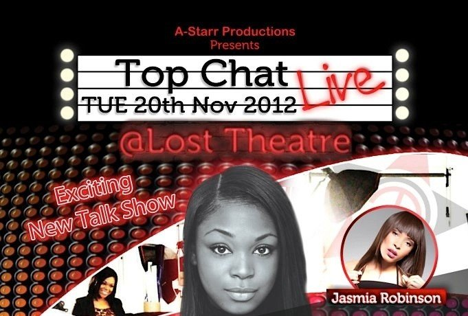 Phoenix James Interview on Top Chat Live Show