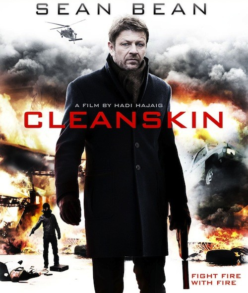 Phoenix James in action thriller movie Cleanskin