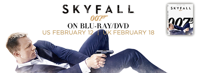Phoenix James in SKYFALL releasing on DVD & Blu-Ray