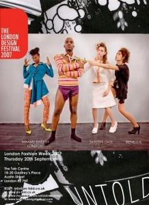 Phoenix James - London Fashion Week - London Design Festival
