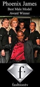 Phoenix James - Fashion TV Best Male Model Award Winner