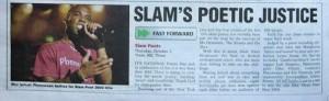 Phoenix James in the Press for Spoken Word & Performance Poetry 2004
