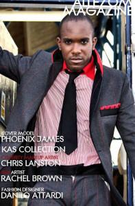 Phoenix James - Interview in Allezom Magazine