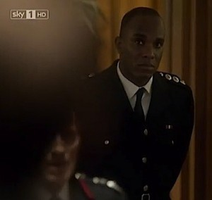 Phoenix James cameo in Smoke on Sky 1 HD television