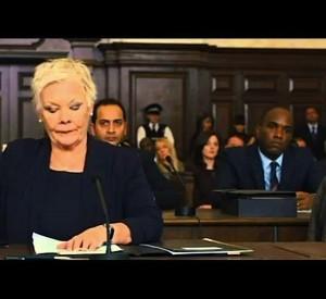 PHOENIX JAMES WITH JUDI DENCH IN JAMES BOND 007 SKYFALL MOVIE SCENE