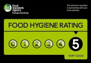 Phoenix James in FSA Food Hygiene Rating Commercial