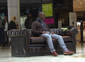 Phoenix James on the Sofa for NatWest Fairer Banking Campaign