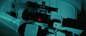 Phoenix James with Stormtrooper Blaster Rifle for Star Wars The Force Awakens