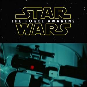 Stormtrooper blaster rifle in new Star Wars Episode VII.