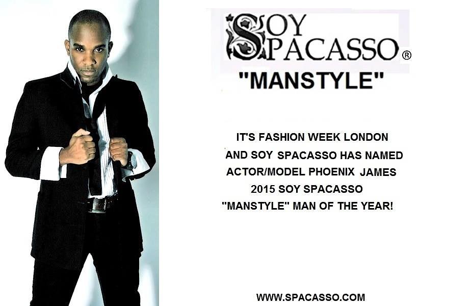 Phoenix James - Soy Spacasso - Manstyle Man 2015_