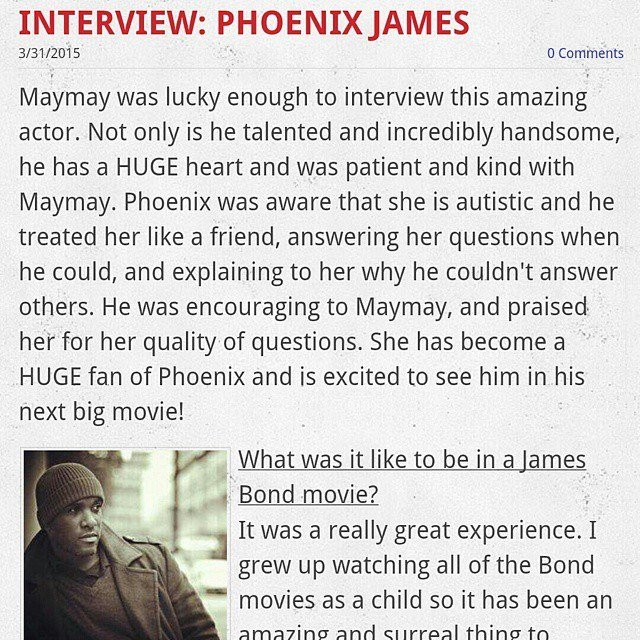 Phoenix James Interview at imastormtrooper.com by Maymay
