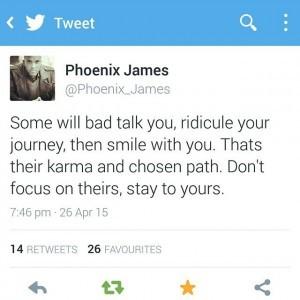 Phoenix James - Quote