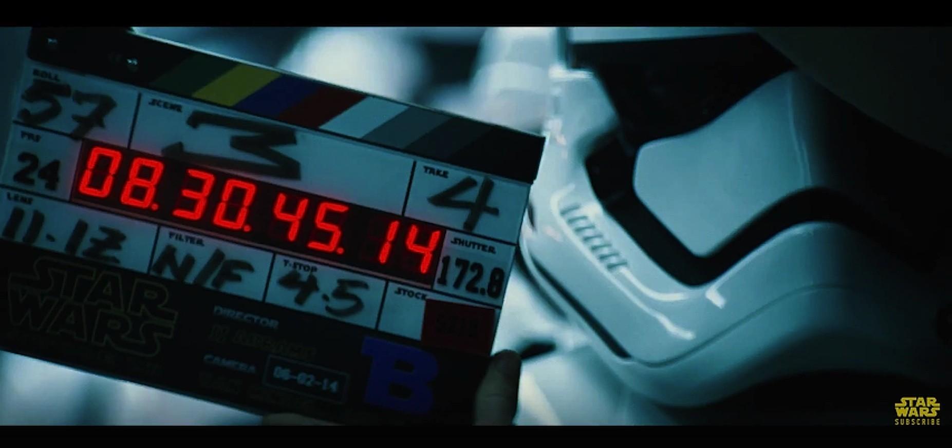 Phoenix James - Star Wars Episode VII - The Force Awakens - Behind the Scenes