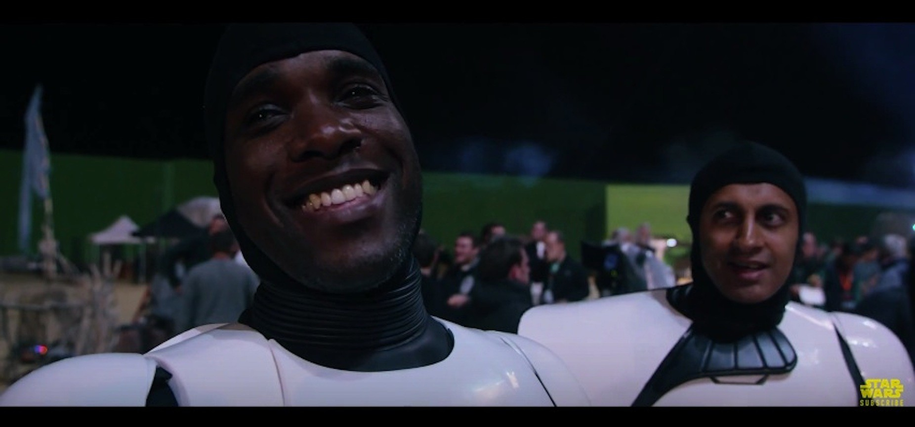 Phoenix James - Star Wars - The Force Awakens - Stormtrooper - Behind the Scenes - Comic-Con 2015 Reel