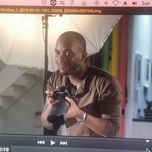 Phoenix James in short film, HUSH