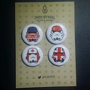 Phoenix James - Stormtrooper Pin Badges