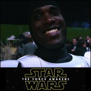 Actors - Phoenix James - First Order Stormtrooper - Star Wars - The Force Awakens Episode 7 8 9 VII VIII IX