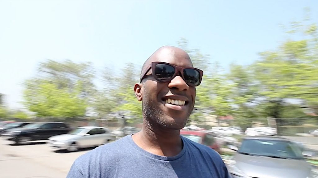 Phoenix James in Santiago, Chile as a special international guest in preparation for his appearance at Movie Con. A two-day movie convention celebrating everything Star Wars