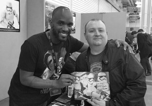 Stormtrooper Actors - London Film and Comic Con - Autograph Signing - Phoenix James 1