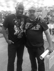 Stormtrooper Actors - London Film and Comic Con - Autograph Signing - Phoenix James 12