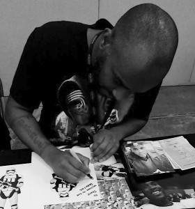 Stormtrooper Actors - London Film and Comic Con - Autograph Signing - Phoenix James 14