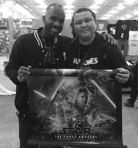 Stormtrooper Actors - London Film and Comic Con - Autograph Signing - Phoenix James 16