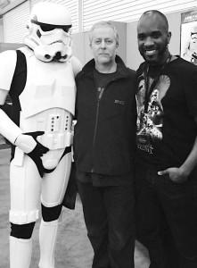 Stormtrooper Actors - London Film and Comic Con - Autograph Signing - Phoenix James 17