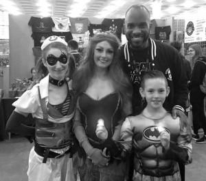 Stormtrooper Actors - London Film and Comic Con - Autograph Signing - Phoenix James 2