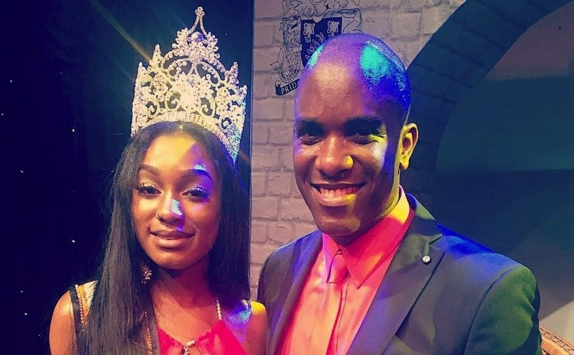 Phoenix James at Miss Barbados UK 2016