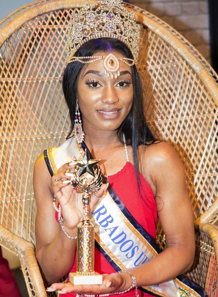 Miss Barbados UK 2016 Winner Sheree Miller