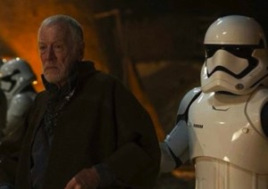 Phoenix James - Actor in Star Wars The Force Awakens as a First Order Stormtrooper with Lor San Tekka (Max von Sydow) Episode VIII