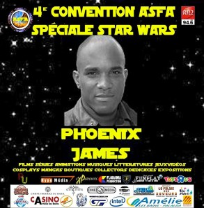 Phoenix James at ASFA Convention - Star Wars Special - Amélie les bains, South of France
