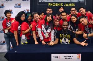 Phoenix James at La Mole Comic Con in Mexico City - Photo by Oseas Días 4
