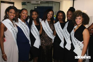 Phoenix James at Miss Barbados UK 2016 Official Press Launch & 'Through Their Eyes' exhibition at Barbados Marketing Tourism Inc. Photo courtesy of Soca News.